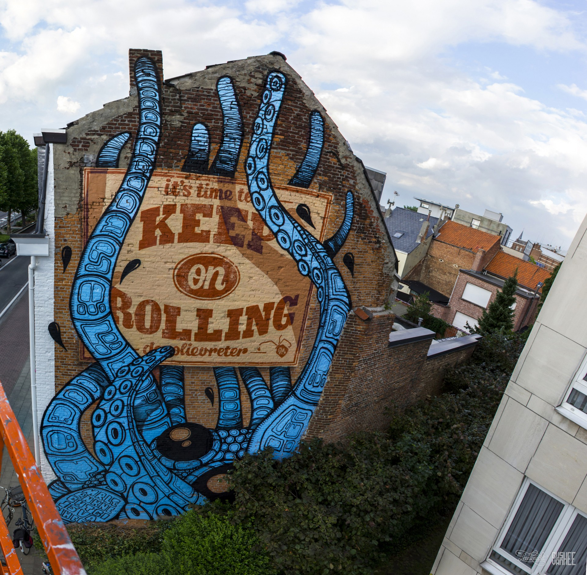 Keep on rolling: street art in Mechelen