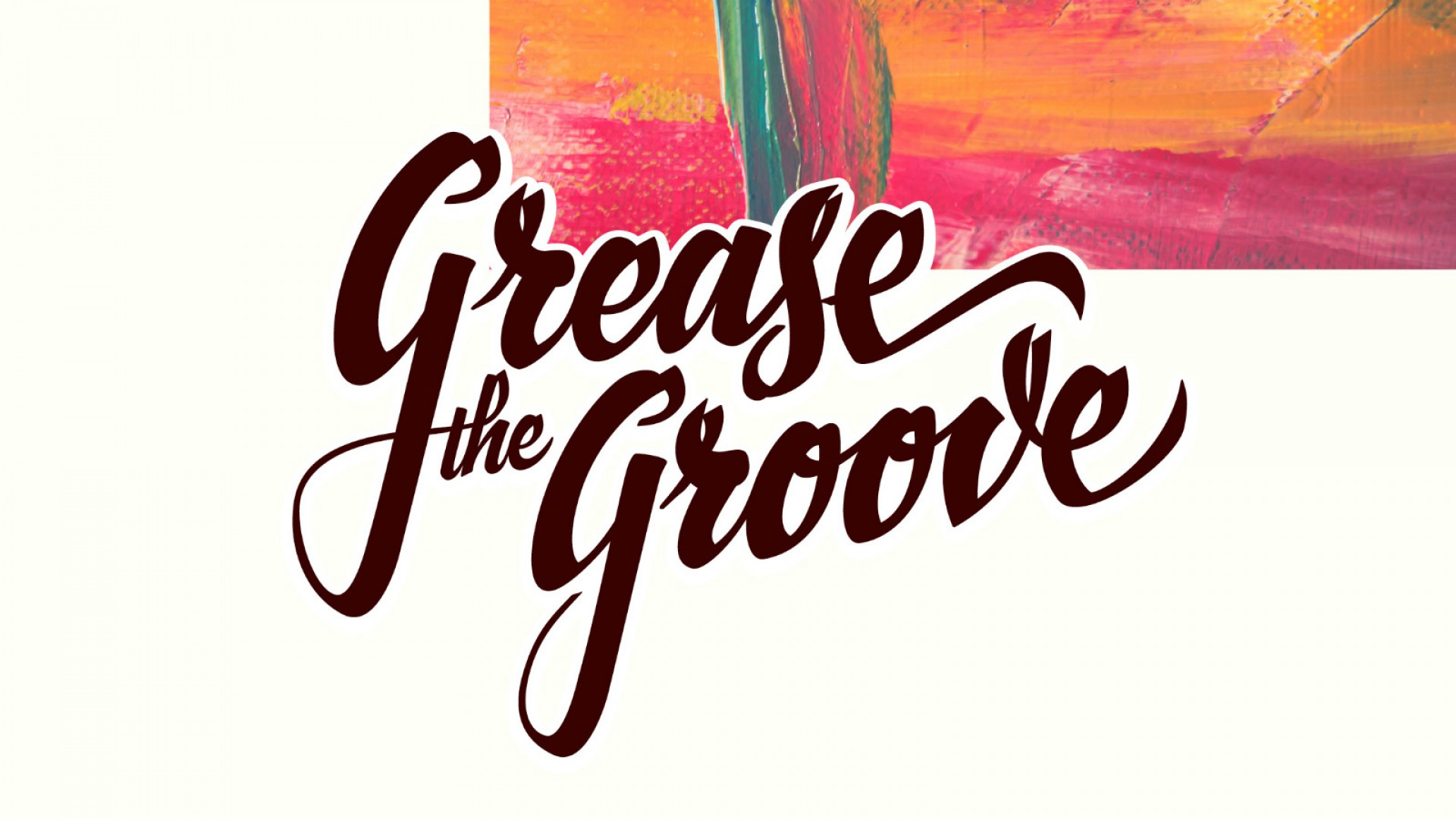 Mr. Leenknecht's selected logo's - Grease the Groove Sam Loos party concept script logo brush script logo Antwerp