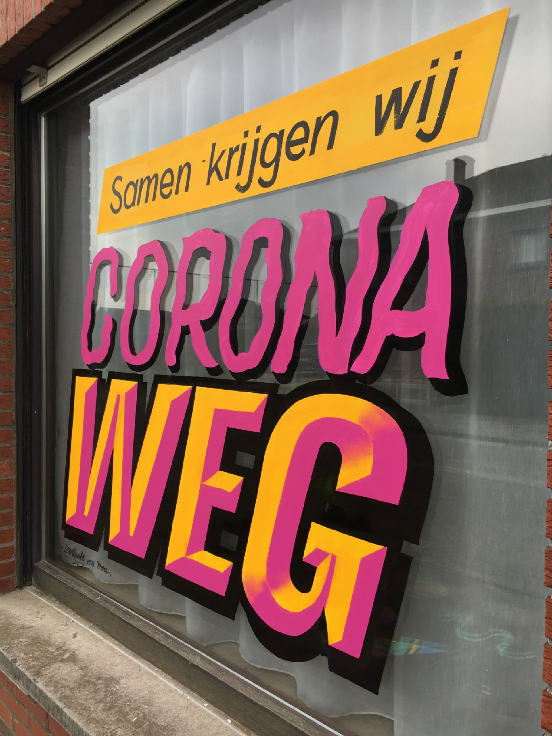 Letterknecht, Lockdown letters: bevel prismatic emboss corona windows